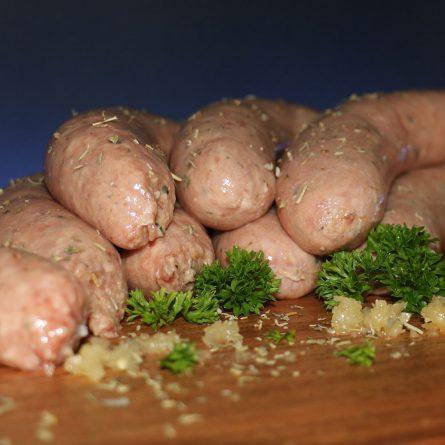 Herb & Garlic Sausages
