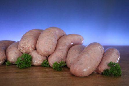 Lamb, Mint & Honey Sausages