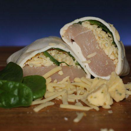 Spinach & Cheese Chicken Parcel