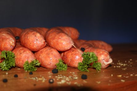 Worcestershire Sauce & Cracked Pepper Sausages